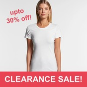 AS Colour - Women's Wafer Crew Tee (Slim Fit)